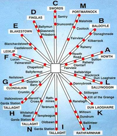 mapa nitelink