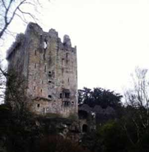 ruinas castillo irlanda
