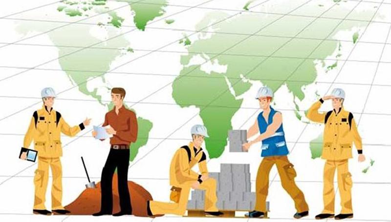 trabajadores en europa