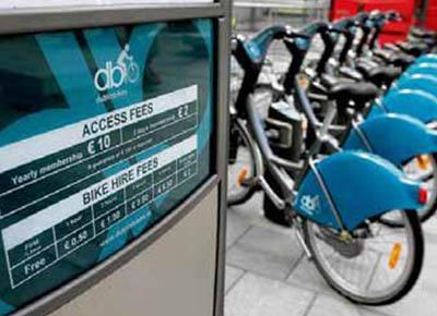 bicicletas ayuntamiento dublin