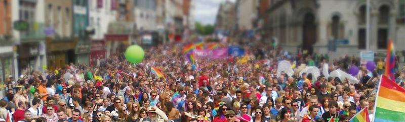 desfile orgullo gay irlanda