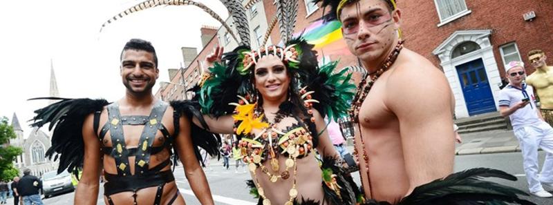 desfile orgullo irlanda