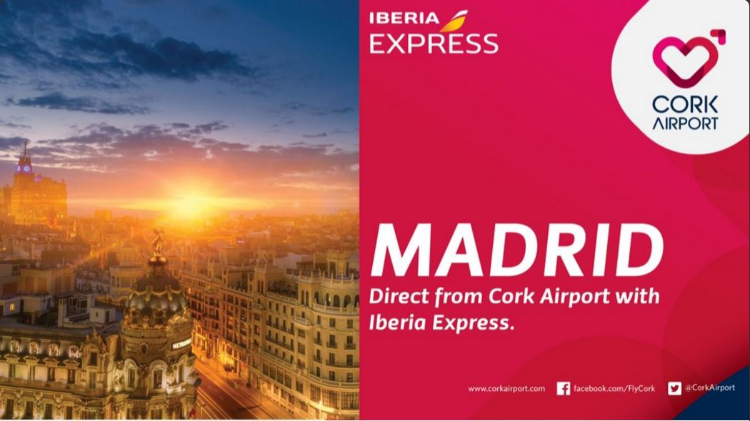 Iberia express vuela a Cork
