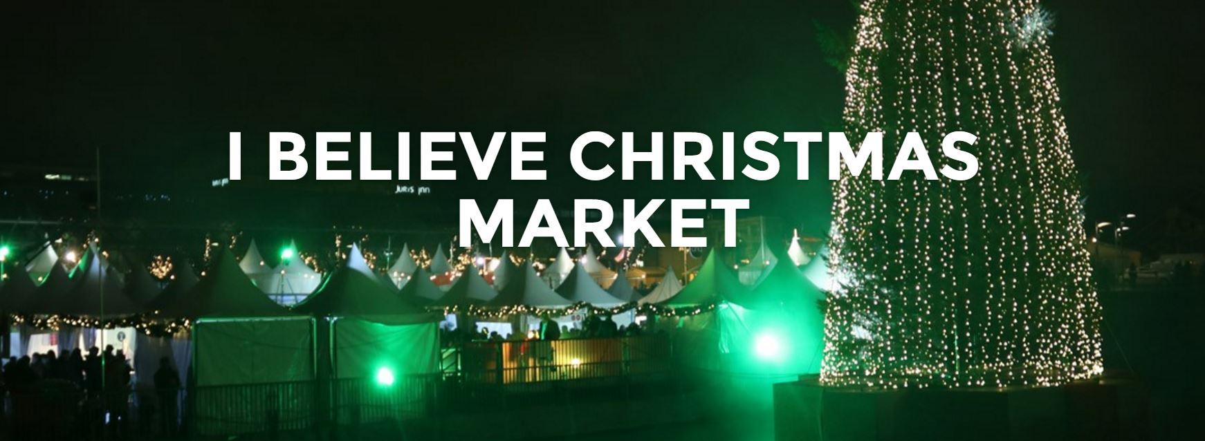 Mercado de navidad en 2016 en Dublin