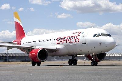 vuelos cork iberia express