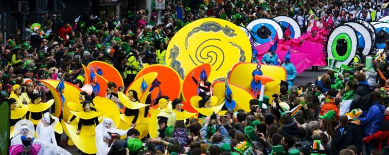 desfile san patricio irlanda