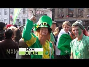 Madrileños por el Mundo visita Dublín, en San Patricio 2016