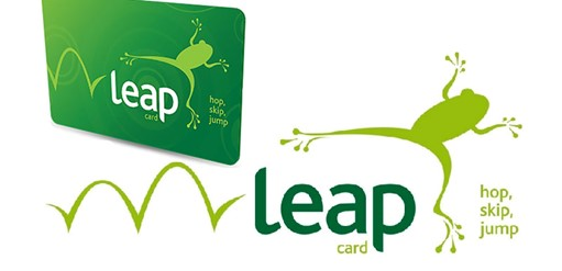 leap card tarjeta transporte irlanda