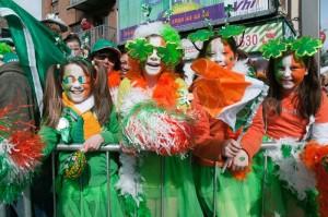 Fiesta en Dublín de San Patricio