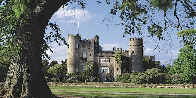 Malahide castillo, Dublin Irlanda, barbacoa