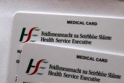 tarjeta sanitaria irlandesa