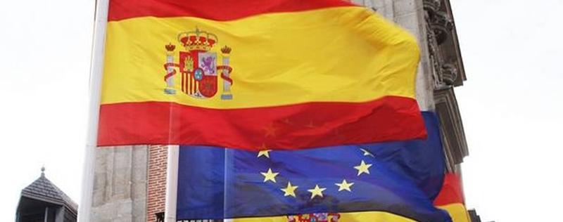 bandera europea espanola