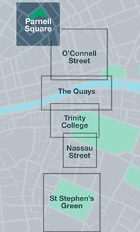 mapa zonas autobuses urbanos