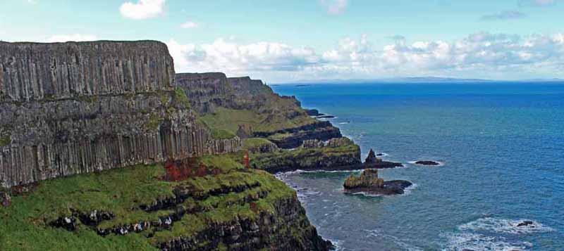 acantilados costa gigantes irlanda