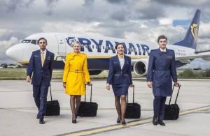 Ryan air ofrece trabajo en Dublin