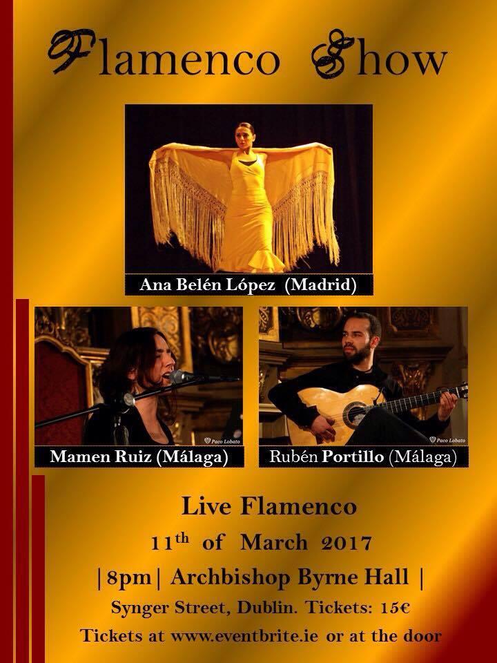 Flamenco en Dublin Irlanda
